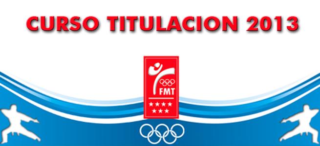 INICIO CURSO OFICIAL DE TITULACION DE TAEKWONDO, MONITORES ...