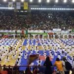 Otra Imagen de la Exhibición infantil del VII Open Internacional de Taekwondo